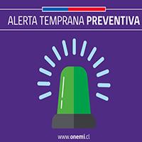 Se declara Alerta Temprana Preventiva para la región de Coquimbo por altas temperaturas