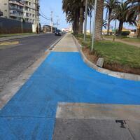 Inauguran nuevo tramo de ciclovía en av. Francisco de Aguirre de La Serena