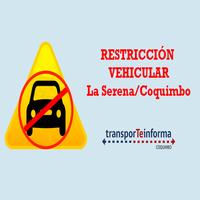 Restricción vehicular en La Serena y Coquimbo