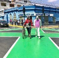 Inauguran cruce Tokio en Coquimbo